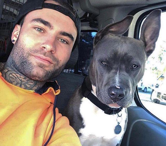 21 Tatted Hunks (and the Dogs Who Love Them)