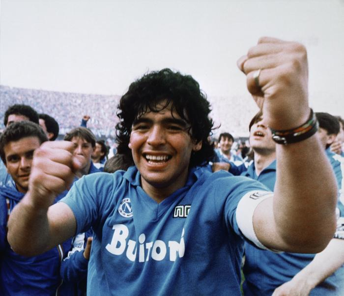 """Argentine soccer great Diego Maradona dies at 60 BC-SOC--Obit-Maradona, 6th Ld-Writethru  Nov 25, 2020 7:46PM (GMT 00:46) - 1626 words  By DEBORA REY Associated Press  Eds: UPDATES: with new lead photo. With AP Photos.; With AP Photos.  BUENOS AIRES, Argentina (AP) — Diego Maradona, the Argentine soccer great who scored the """"Hand of God"""" goal in 1986 and led his country to that year's World Cup title before later struggling with cocaine use and obesity, has died. He was 60.  Maradona's spokesman, Sebastián Sanchi, said he died Wednesday of a heart attack, two weeks after being released from a hospital in Buenos Aires following brain surgery.  The office of Argentina's president said it will decree three days of national mourning, and the Argentine soccer association expressed its sorrow on Twitter.  One of the most famous moments in the history of the sport, the """"Hand of God"""" goal, came when the diminutive Maradona punched the ball into England's net during the 1986 World Cup quarterfinals. England said the ball went in off of Maradona's hand, not his head. Maradona himself gave conflicting accounts of what had happened over the years, at one point attributing the goal to divine intervention, to """"the hand of God.""""  Ahead of his 60th birthday in October, Maradona told France Football magazine that it was his dream to """"score another goal against the English, this time with the right hand.""""  Maradona also captivated fans around the world over a two-decade career with a bewitching style of play that was all his own.  Although his reputation was tarnished by his addictions and an ill-fated spell in charge of the national team, he remained idolized in soccer-mad Argentina as the """"Pibe de Oro"""" or """"Golden Boy.""""  """"You took us to the top of the world,"""" Argentine President Alfredo Fernández said on social media. """"You made us incredibly happy. You were the greatest of all.""""  The No. 10 he wore on his jersey became synonymous with him, as it also had with Pelé, the Brazilian gre"""
