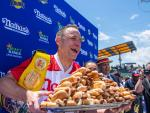 Joey Chestnut Sets New Record At Post-Pandemic Hot Dog Race